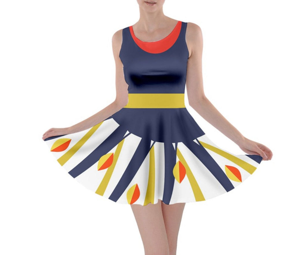 Franny Meet the Robinsons Inspired Skater Dress