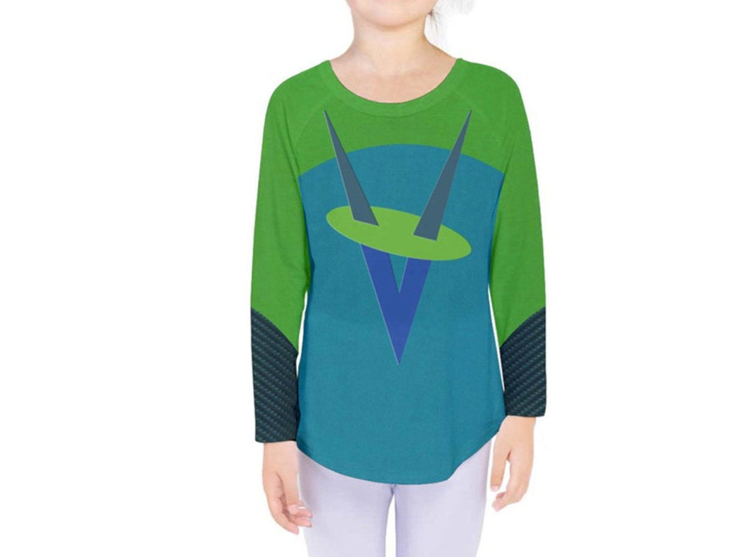 Kid's Voyd The Incredibles 2 Inspired Long Sleeve Shirt