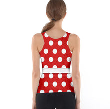 Women's Minnie Mouse Inspired Tank Top
