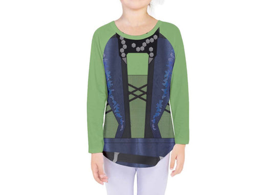Kid's Gamora Guardians of the Galaxy Inspired Long Sleeve Shirt