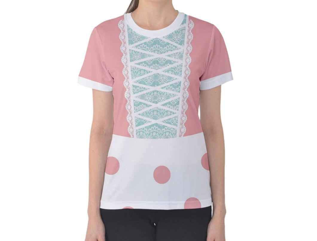 Women's Bo Peep Toy Story Inspired ATHLETIC Shirt