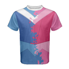 Men's Aurora Make It Pink Make It Blue Sleeping Beauty Inspired ATHLETIC Shirt