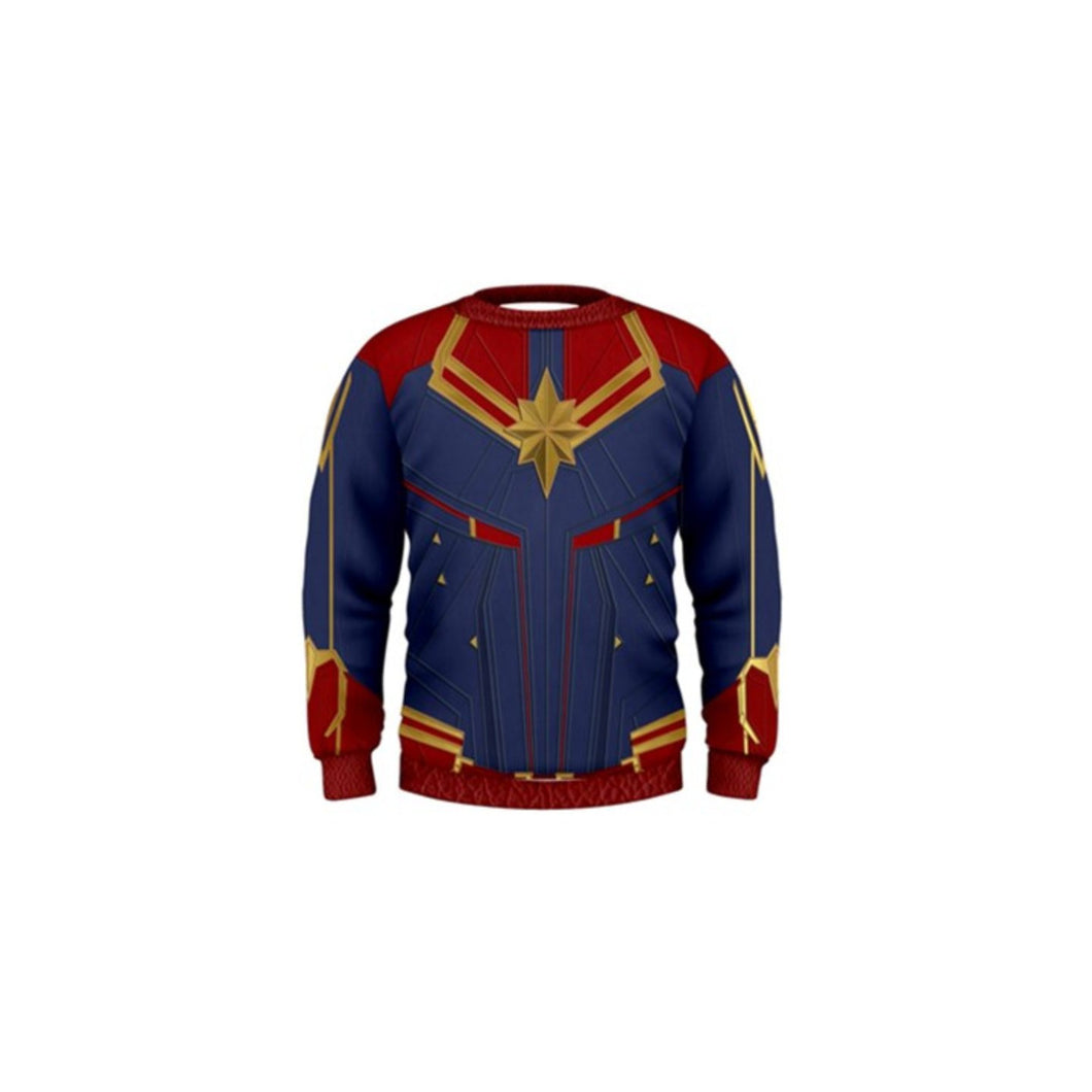 Kid's Captain Marvel Inspired Sweatshirt