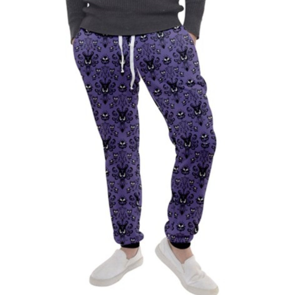 Men's Haunted Mansion Inspired Joggers Sweatpants