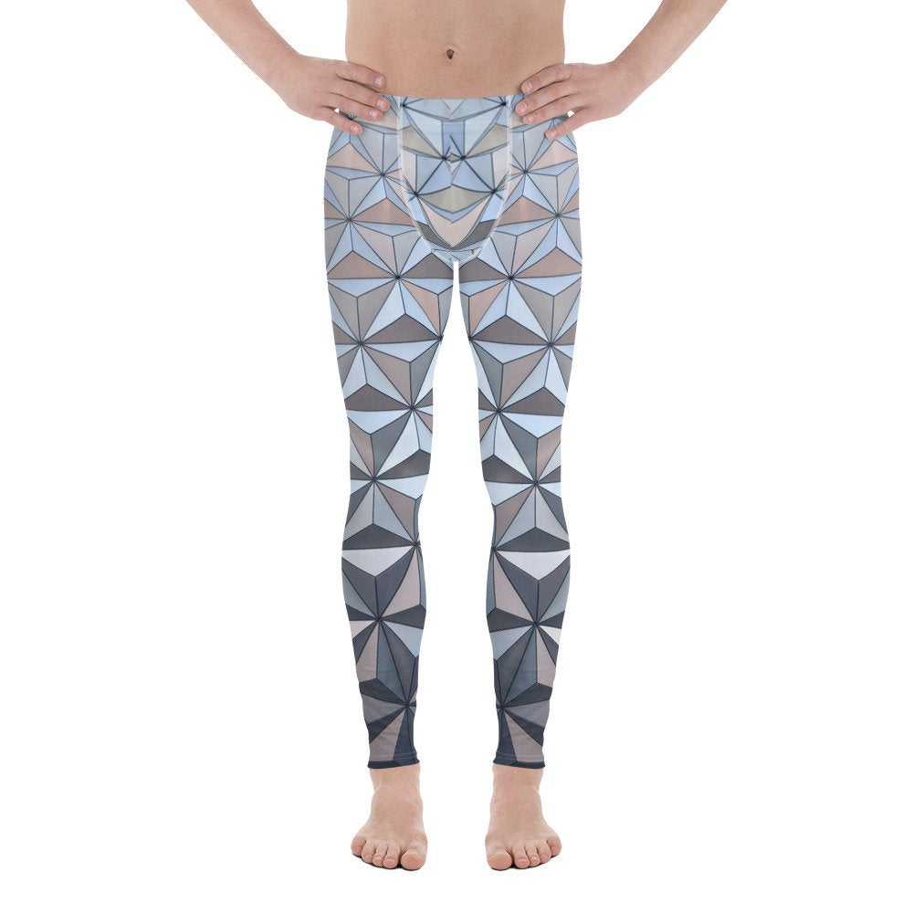 Men's Spaceship Earth Epcot Inspired Leggings