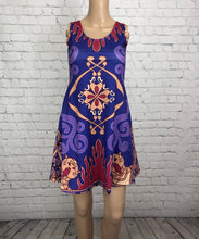 Magic Carpet Aladdin Inspired Sleeveless Dress