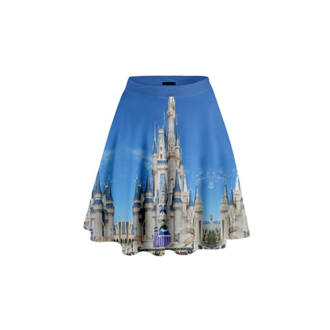 Cinderella Castle Inspired High Waisted Skirt