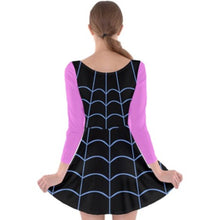 Vampirina Inspired Long Sleeve Skater Dress