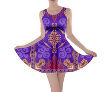 Magic Carpet Aladdin Inspired Skater Dress