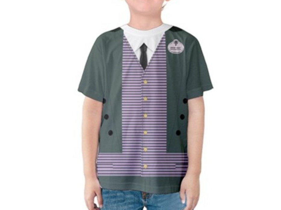 Kid's Haunted Mansion Ghost Host Inspired Shirt