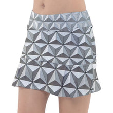 Spaceship Earth Epcot Inspired Sport Skirt