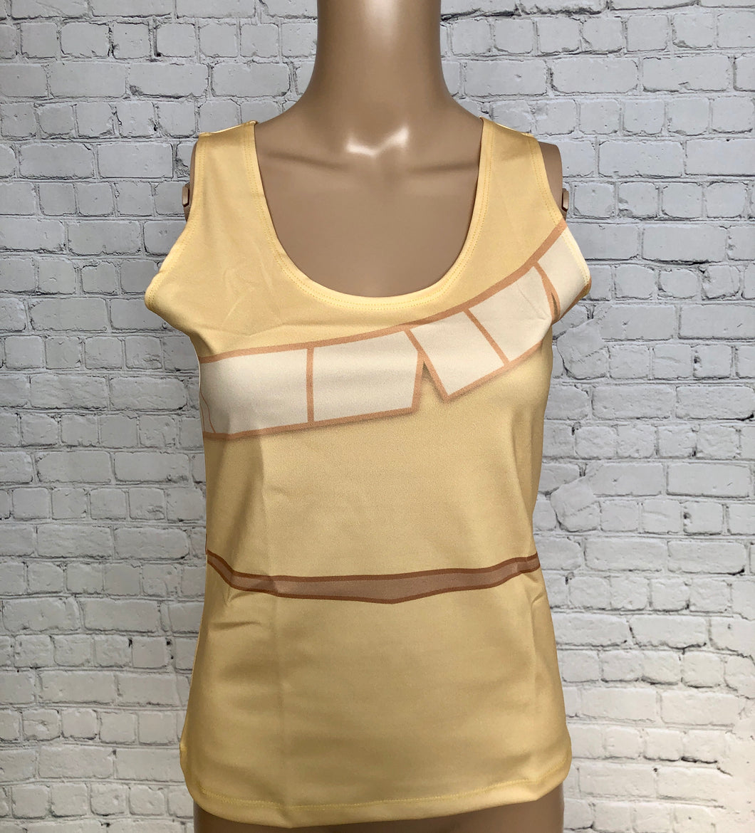 Women's Pocahontas Inspired Tank Top