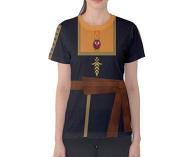 Women's Anna Frozen 2 Inspired ATHLETIC Shirt