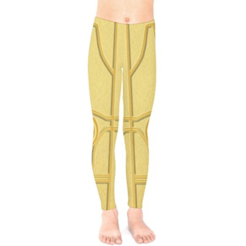 Baby / Kid's C3PO Star Wars Inspired Leggings
