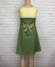 Green Bimbette Beauty and the Beast Inspired Sleeveless Dress