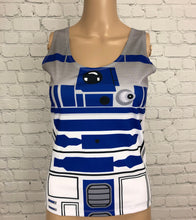 Women's R2D2 Star Wars Inspired Tank Top