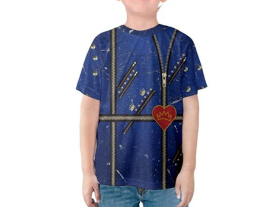 Kid's Evie Descendants 2 Inspired Shirt
