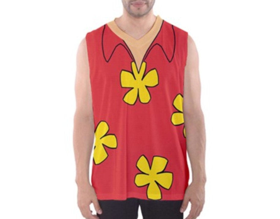 Men's Dale Rescue Rangers Chip and Dale Inspired Athletic Tank Top