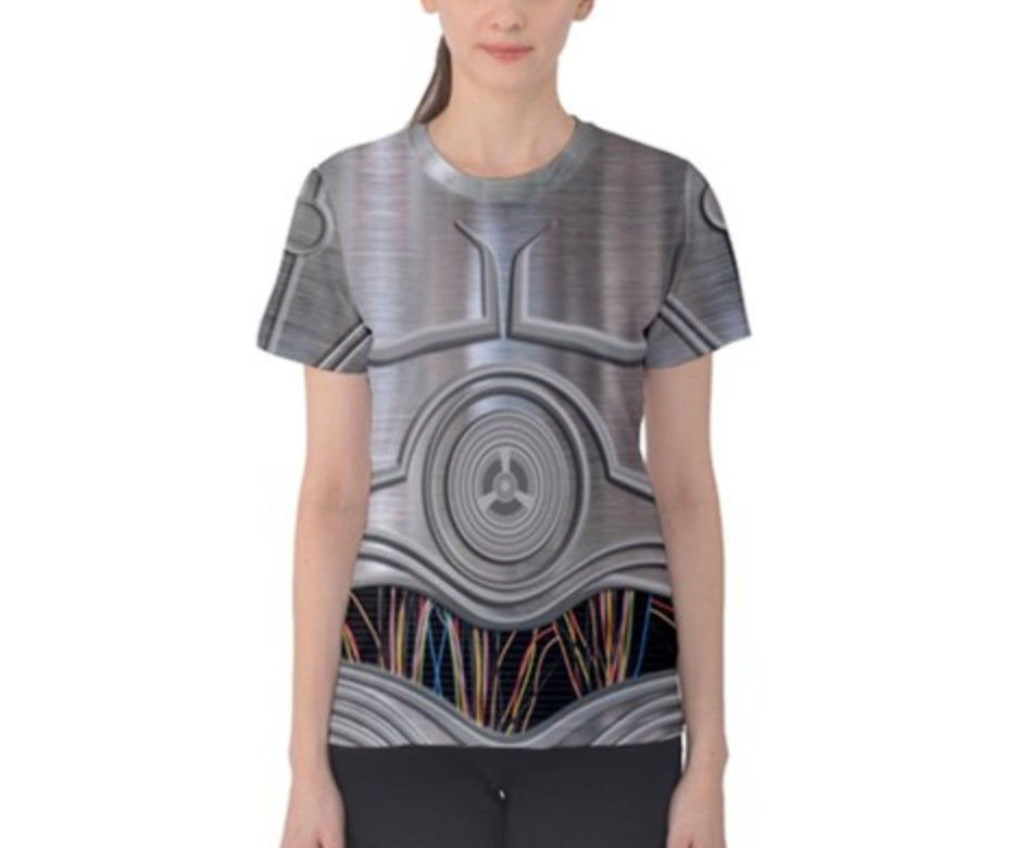 Women's E-3PO Star Wars Inspired Shirt