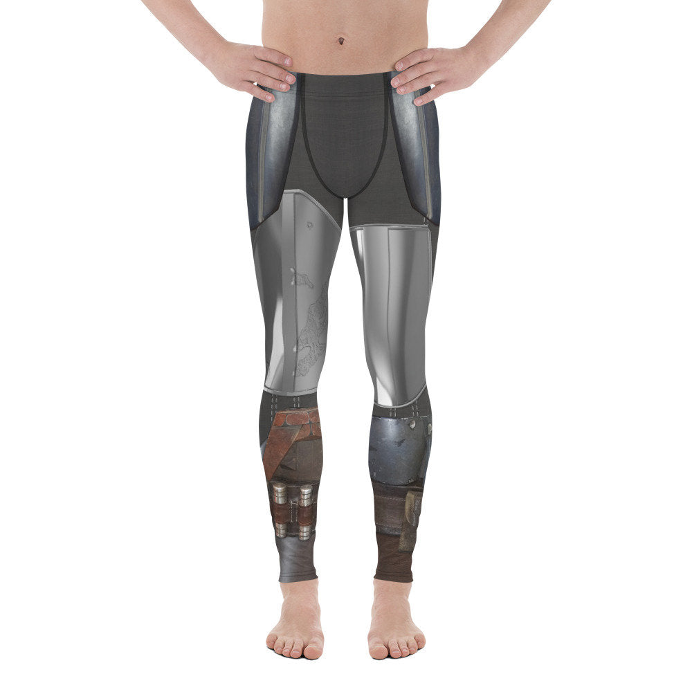Men's Steel Bounty Hunter Star Wars Inspired Leggings