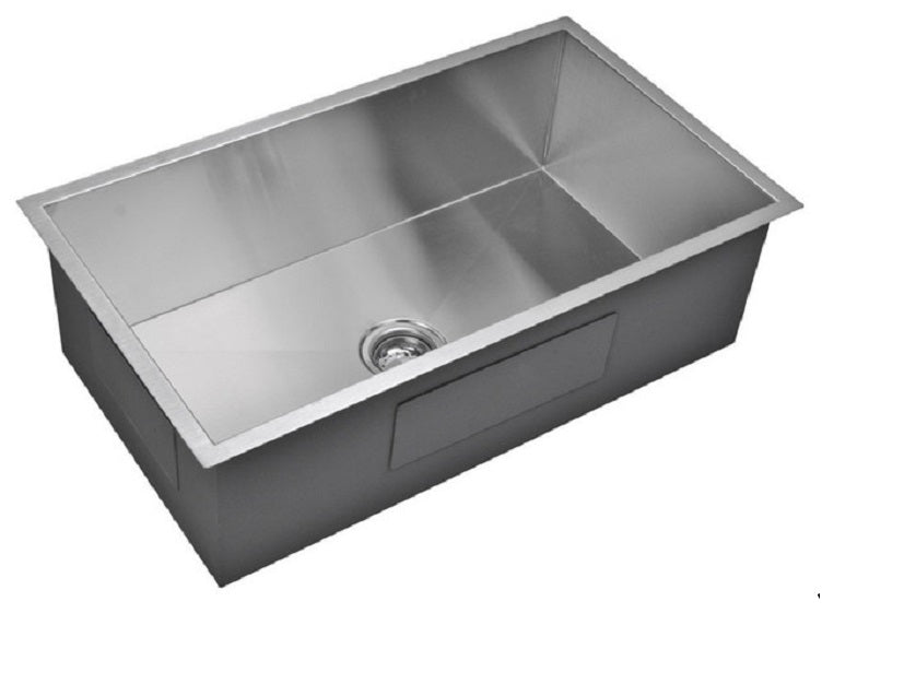 Stainless Steel Handmade Kitchen Sink OACS 3119A2 Double Bowl 60/40 ...