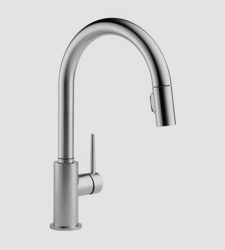 featuring pull sd with faucet p delta down sprayer in single kitchen faucets pilar dispenser dst soap technology touch handle chrome