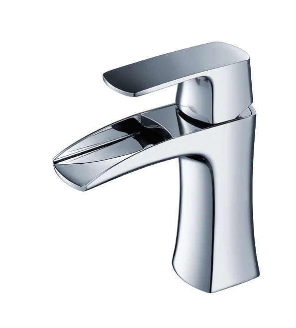 Merveilleux One Hole Single Handle Widespread Bathroom Sink Faucet 0B 450Z1C In Chrome