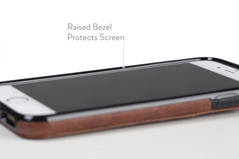 Raised Bezel to Protect Screen