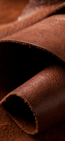 Brown Leather Roll Wallpaper for Smartphone