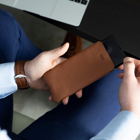 UltraSlim Leather Sleeve | Sena Cases