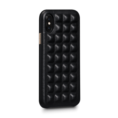 Ruku Snap On Leather Case for iPhone X and XS