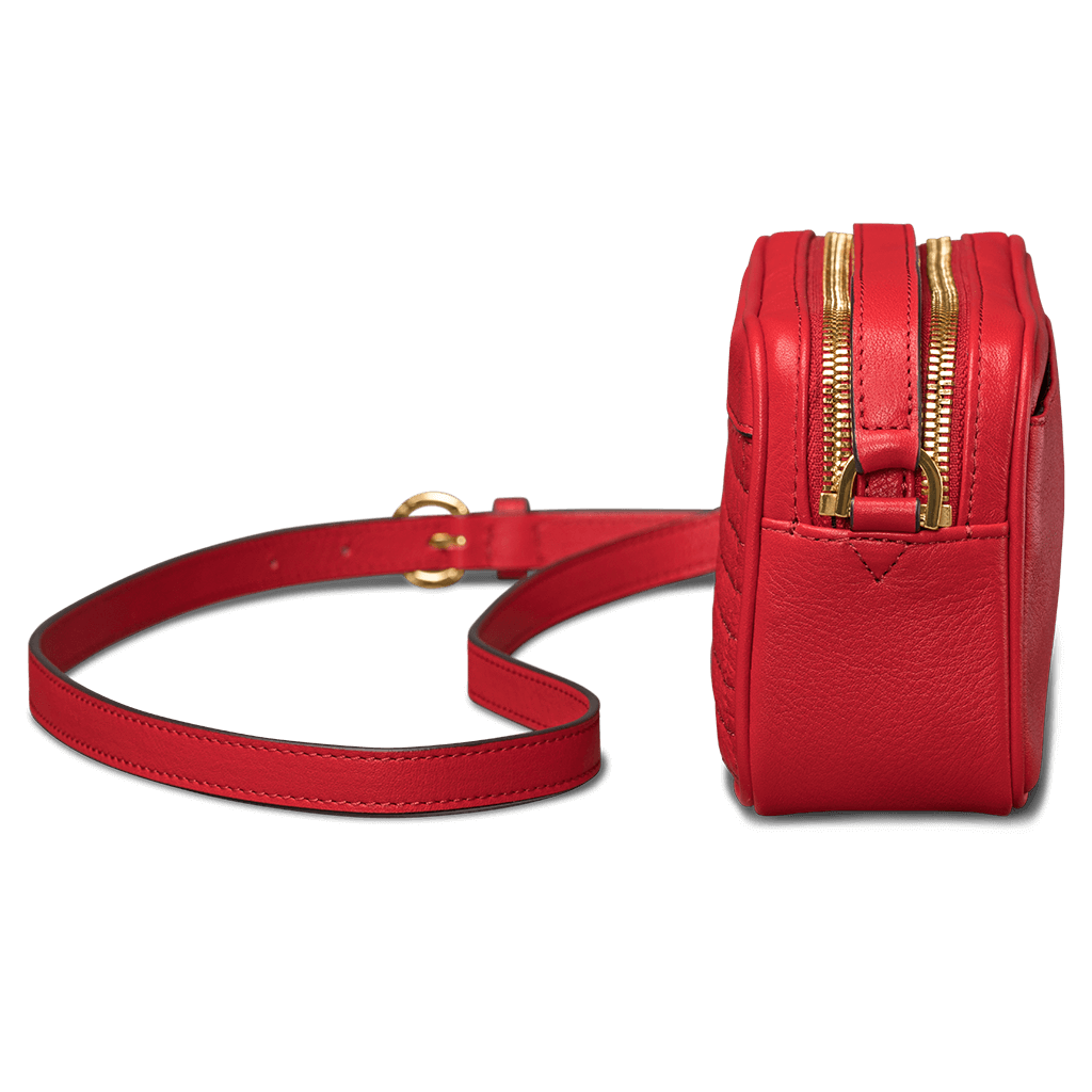 Universal Isa Crossbody Leather Hand Bag Universal Isa Red SFD23303GBUS-50R