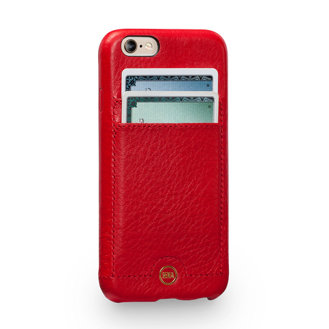 Isa Snap On Wallet Leather Case for iPhone 6s Plus, 6 Plus