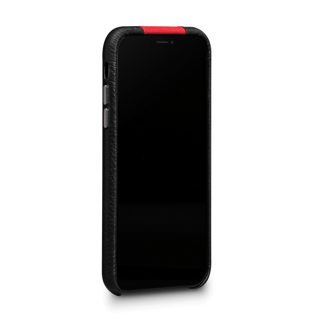 Racer Snap On Leather Case for iPhone X / Xs