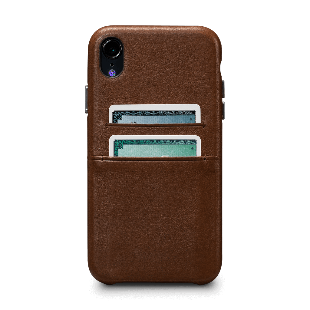 Deen Leather Snap On Wallet Case for iPhone XR