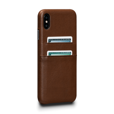 Deen Leather Snap On Wallet Case for iPhone XS Max
