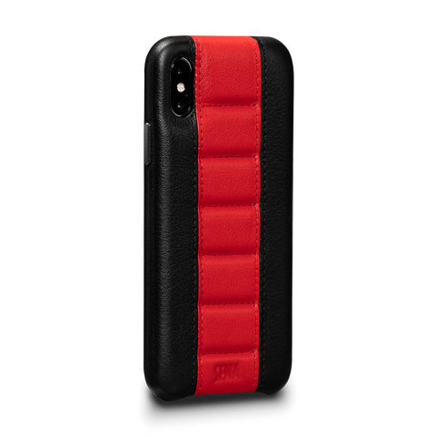 Racer Z Leather Snap On Case for iPhone XS