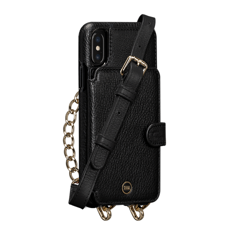 Kyla Crossbody Snap On Case for iPhone X and XS