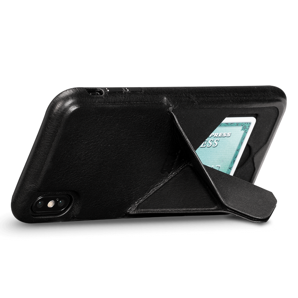 Vista Leather Case with Stand for iPhone XS Max