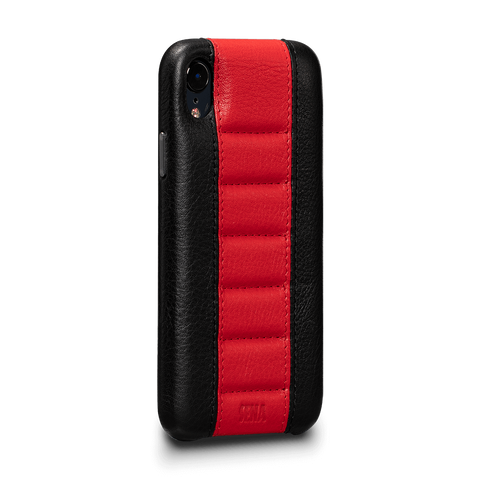 Racer Z Leather Snap On Case for iPhone XR