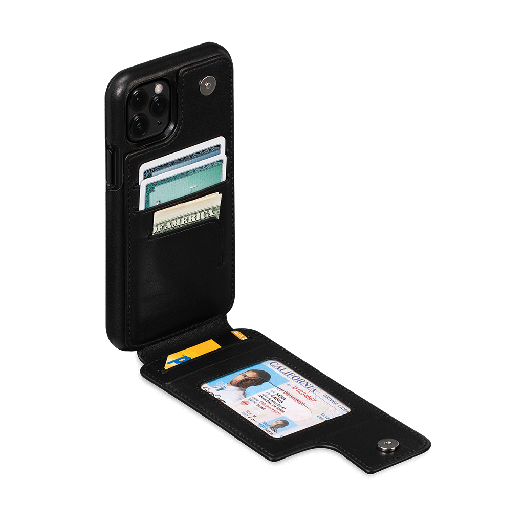 Walletskin Case for iPhone 11 Pro (Black)
