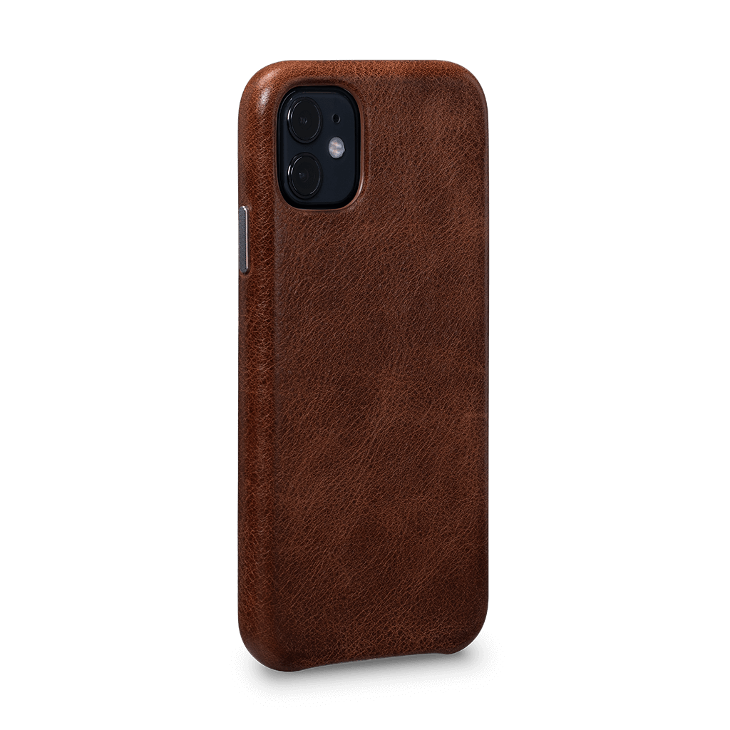 Leatherskin Case for iPhone 11 (Cognac)