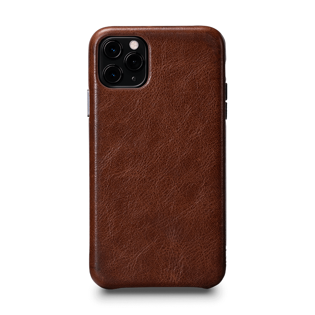 Leatherskin Case for iPhone 11 Pro Max (Cognac)