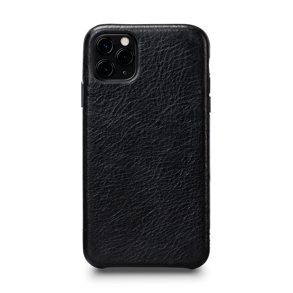 Leatherskin Case for iPhone 11 Pro Max (Black)