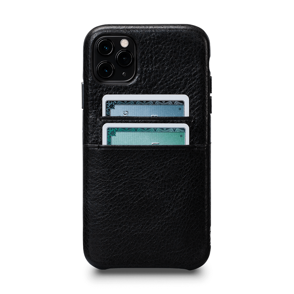 Snap On Wallet  Case for iPhone 11 Pro (Black)