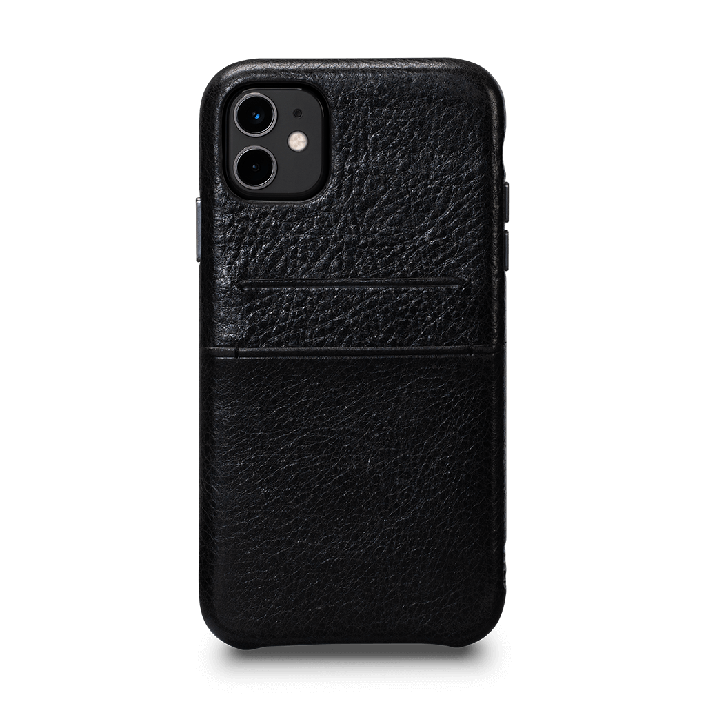 Snap On Wallet  Case for iPhone 11 (Black)