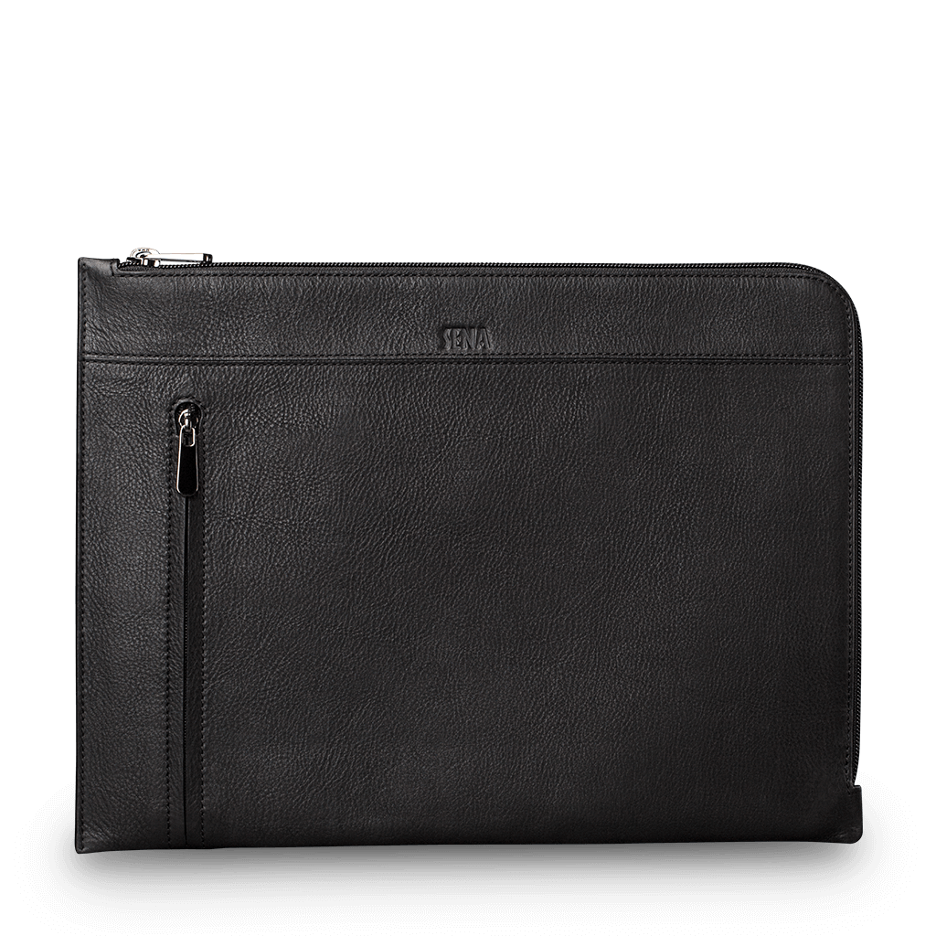 Universal Leather Sleeve for iPad 12.9 in. and Macbook 12 in.