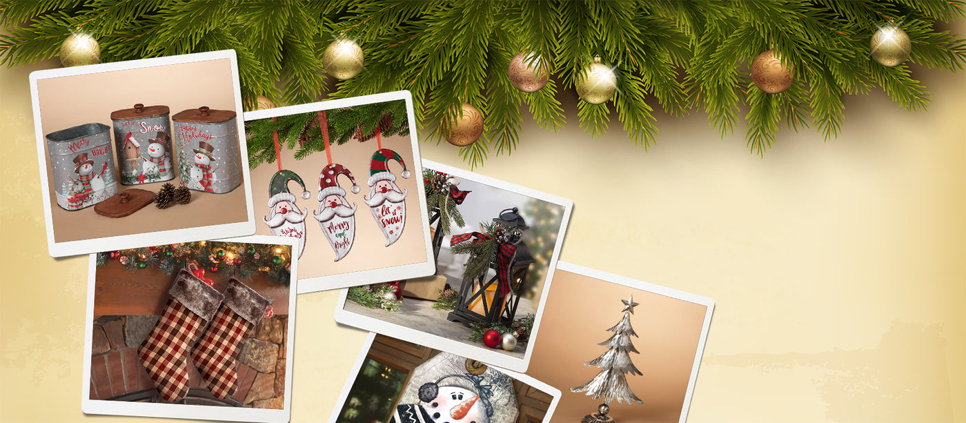 Christmas DÉCOR at your fingertips!
