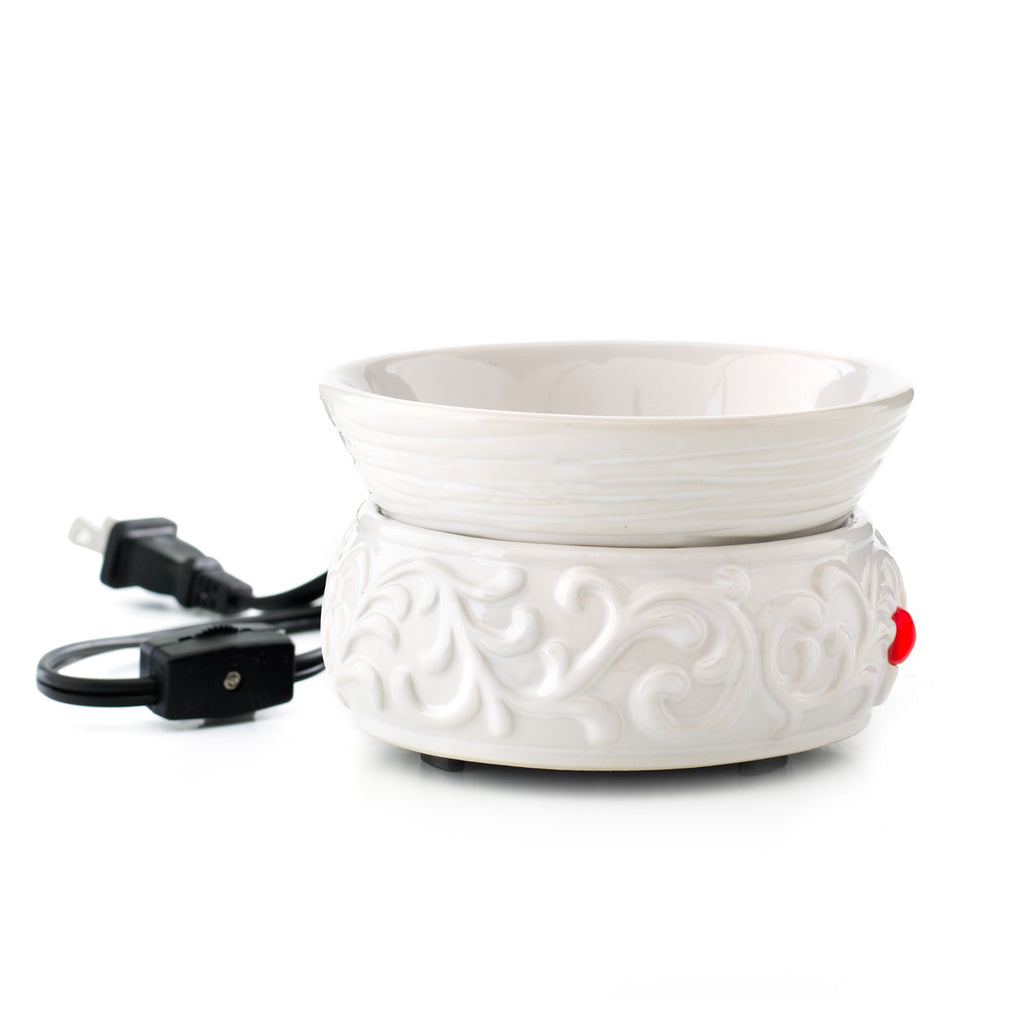 Clarity Fragrance Warmer - White