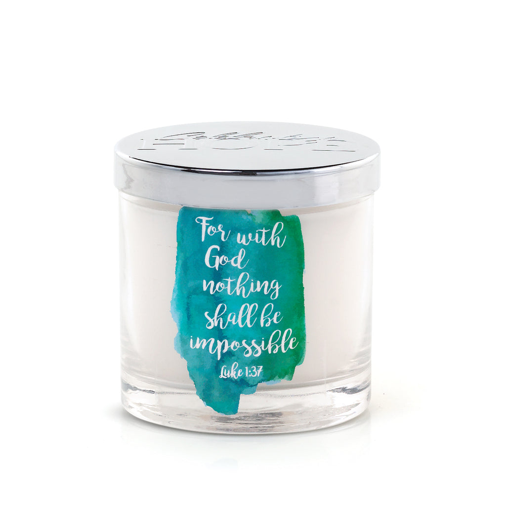 Hope Inspirational Candle - Gardenia